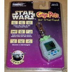 Yoda Giga Pet - I wish I still had mine!