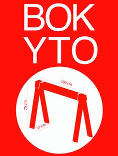 Bokyto tischbock bock wooden trastle bank chabdesignworks for Tischbock design