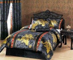 Dragon bedding sets can make you get all the luck essential and plenty of cool dragon designs to select from for any room. The lucky dragon comforters vary from cartoon as illustrations for kids and teens to practical pictures of dragons which are masculine in nature and magnetize an older crowd.