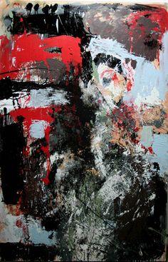 Katarzyna Gajewska, Time Folding, Mixed Media on Canvas