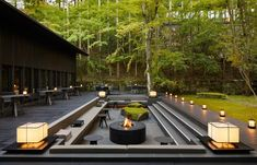 Kerry Hill's Architectural Legacy Lives On In Aman Kyoto | Habitus Living Landscape Architecture, Landscape Design, Chinese Architecture, Architecture Office, Futuristic Architecture, Kerry Hill Architects, Ar Fresco, Forest Bathing, Hidden Garden