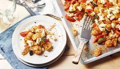MAGGI Rezeptidee fuer Mediterrane Kartoffeln mit Feta