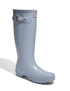 Powder Blue Hunter Rainboots