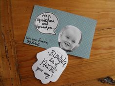 Back of handprint card