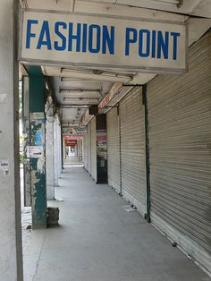 Abpara Market (deserted) Pakistan Taliban ban?