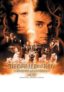 """FULL MOVIE! A IMAX FILM! Siegfried & Roy: """"the Magic Box"""" (1999) 