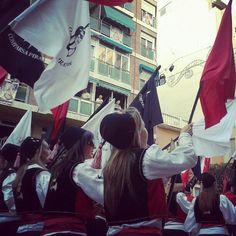 Fiestas morosycristianos #villena spain #alicante las piratas colorido y alegría