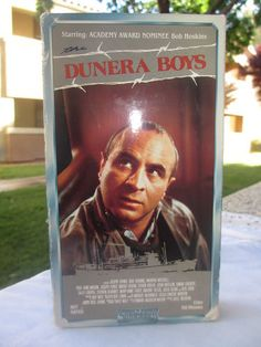 The Dunera Boys VHS Tape Australian Jewish WWII Bob Hoskins Theme Movie 1989