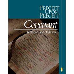 Knowing God's Covenant Precept Bible Study starts this Thursday AM @Fleur van Geenhuizen Church