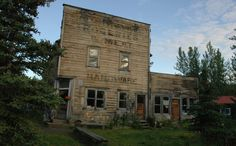 But what they don't realize is that one of the oldest general stores in the last frontier is also located nearby.