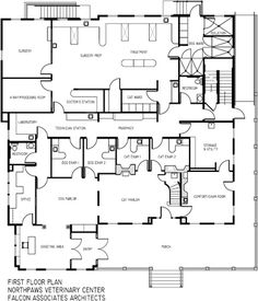 NorthPaws Veterinary Center, Greenville, R.I. - 2014 #Veterinary Economics Hospital Design Supplement - Floor plan - dvm360