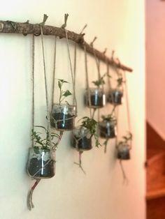 Crafts With Glass Jars, Mason Jar Crafts, Plants In Jars, Diy Snow Globe, Jar Art, Crafts To Do, Diy Crafts, Design Crafts, Oui Oui