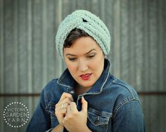 Cosy Rosie Earwarmer25 Color Choices by VictoryGardenYarn on Etsy,