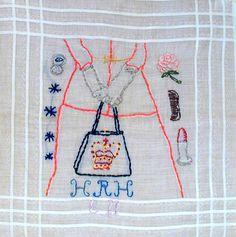 Maira Kalman's embroidery