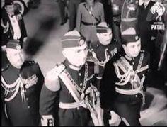 زيارة الملك فيصل الثاني للاردن بمناسبة زواج الملك حسين . رحمهما الله