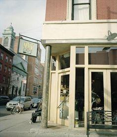 My local cafe in Alphabet City - NY