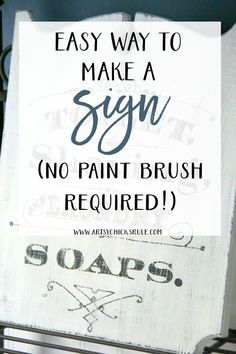 No paint brush??!! Anyone can do this!! artsychicksrule.com