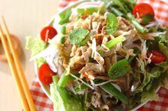 紫玉ネギのエスニックサラダ【E・レシピ】料理のプロが作る簡単レシピ/2013.07.22公開のレシピです。