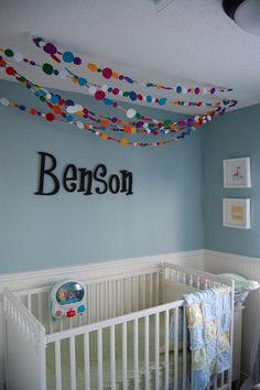 Ben's Nursery Garland by lifeintheashelane, via Flickr