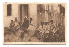 Cartão Postal Tipográfico: Grupo de Negros - Est. de São Paulo. MBC.