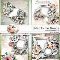 Listen to the Silence Quickpages Vol. 2 (PU/S4H) by Feli Designs