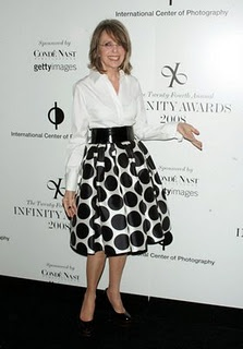 Diane Keaton. She reminds me that I can always dress funky...no matter how old I get. <3