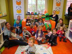 Boekstart aanwezig in kinderopvang