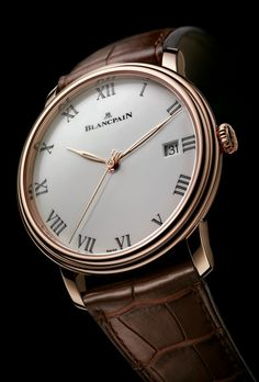 TimeZone : Industry News » Basel 2014 - Blancpain Villeret 8 Days
