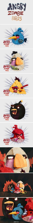 Angry Zombie Birds ^^