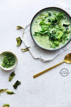 ... green thai soup ... #recipe