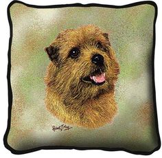 Norfolk Terrier Dog Pillow