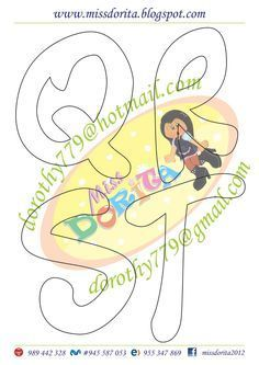 Aqui les dejo este tipo de letra muy lindo que por cierto tiene mi apellido, espero la disfruten y sea de su agrado, les agradecería compart... Alphabet Templates, Alphabet Art, Felt Name Banner, Name Banners, Lettering Design, Hand Lettering, Bubble Letters, Cartoon Kids, Stencils