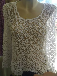 I know this is crochet (and I don't crochet); but OH! to find a knitted pattern to make it would be SWEET!!!
