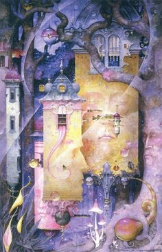 """""""The Wee Hours"""" ~ Daniel Merriam ~ Watercolorist Extraordinaire"""