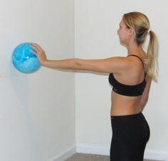 Ball on Wall serratus anterior