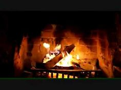 Natural Sounds Wood-Burning Fireplace (30 Minutes) - YouTube