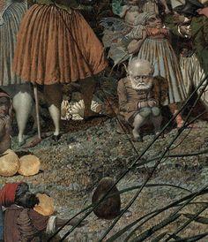 Richard Dadd - 'the fairy feller's master-stroke' detail