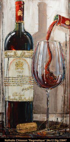 Original multi-media painting on canvas by Nathalie Chiasson. Nathalie Chiasson…