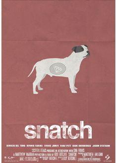 Movie Poster  Cinema Poster Design Snatch