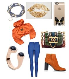 """""""Untitled #91"""" by najia17-2007 on Polyvore featuring Topshop, Chloé, Casetify, Burberry and FOSSIL"""