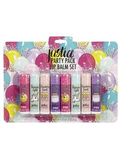 Justice Party Pack Lip Balm Set