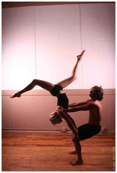 Partner yoga, i want to do this! :)