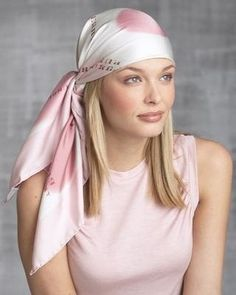side tie head wrap