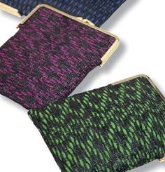 OHJE: Videopitsilaukku ym. Coin Purse, Weaving, Wallet, Purses, Knitting, Crochet, Bags, Handbags, Handbags