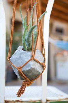Geometric Concrete Succulent Cacti Planter von ConcreteGeometric