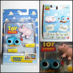 Disney Toy Story Movie BUDDY PACK LENNY & HAMM Figures NEW! RARE Mattel # P6055 #Mattel