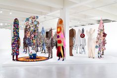 "mocada-museum: ""Black Future Month: Nick Cave Nick Cave is an American fabric sculptor, dancer, and performance artist. He is best known for his Soundsuits: wearable fabric sculptures that are bright,..."