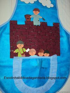 Escolinha Bíblica da Garotada: Lição 06-Juniores: Neemias, um herói que não olhou...