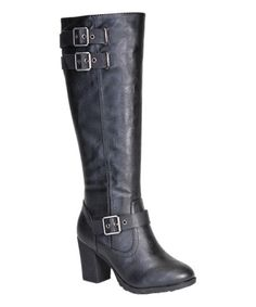 This Black Rattle Boot is perfect! #zulilyfinds