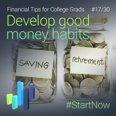 Get a money routine and stick to your budget. Have a financial plan and #StartNow by practicing consistency!